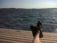 This Can Be You Relaxing on Your Island Deck! Labour Day Weekend