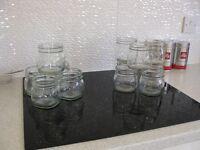 30 Genuine Kilner dual purpose Jars in perfect condition