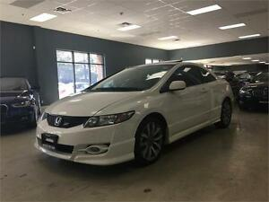 2010 Honda Civic Cpe Si**SKIRT PACKAGE*NO ACCIDENTS*LOW KM*
