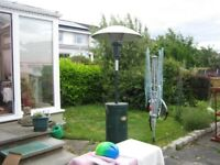 LARGE FREESTANDING PATIO HEATER WITH CANOPY