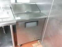 2ft True Single door Prep Cooler!100%cold working condition!Save