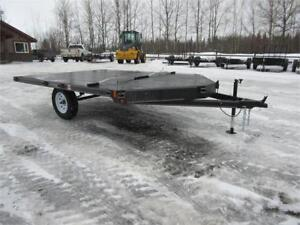 10 FT 2 PLACE SLED TRAILER IN SMITHERS
