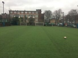 Casual 7-a-side football in Battersea, Clapham every Saturday/Sunday