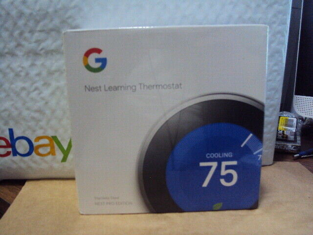 Nest 3rd Generation Learning Stainless Steel Programmable Th
