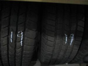 265/65RT18 SET OF 4 MATCHING USED GOODYEAR A/S TIRES