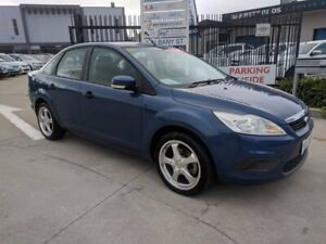 2010 Ford Focus LV CL Blue 4 Speed Sports Automatic Sedan Fyshwick South Canberra Preview