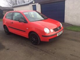 VW POLO 53 Excellent runner, Great condition, inside and out MOT Feb 2018. Full Service history