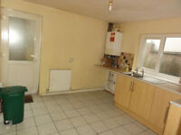Three bedroom house to rent in Gadlys area Aberdare. Pets welcome. No bond needed.