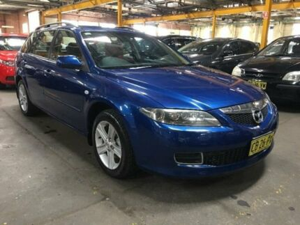 2005 Mazda 6 GY1031 Blue Automatic Wagon