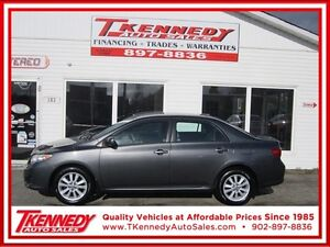 2010 Toyota Corolla LE ONLY $8,788.00 LOW KM SHOWROOM CONDITION