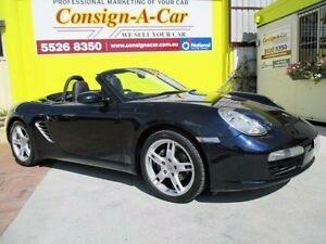 2006 Porsche Boxster 987 MY06 Midnight Blue 5 Speed Manual Convertible Bundall Gold Coast City Preview