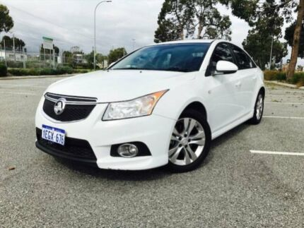 2013 Holden Cruze JH MY14 SRi White 6 Speed Automatic Sedan Beckenham Gosnells Area Preview