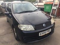 2005 Fiat Punto, starts and drives well, MOT until 9th December, clean inside and out, only has gree