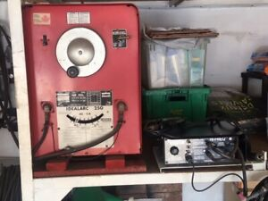 Lincoln Arc and Tig Welder System