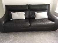 For Sale Brown Leather Sofa