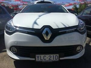 2016 Renault Clio X98 Expression White 6 Speed Automated Manual Hatchback Braddon North Canberra Preview