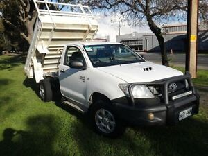 2008 Toyota Hilux KUN26R 08 Upgrade SR (4x4) White 5 Speed Manual Albert Park Charles Sturt Area Preview