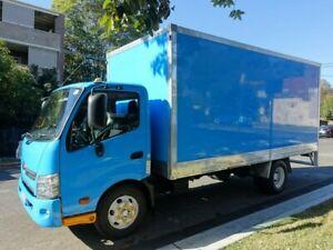 2012 Hino 300 XZU720R 917 LWB Blue Pantech 4.0l 4x2 Homebush West Strathfield Area Preview