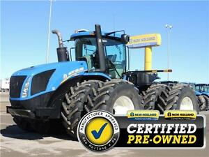 2011 New Holland T9.505HD 4WD Tractor,1608hrs, WARRANTY 0%-24