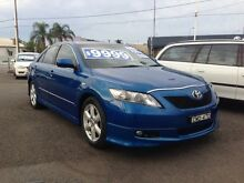 2007 Toyota Camry ACV40R Sportivo Blue 5 Speed Automatic Sedan Broadmeadow Newcastle Area Preview