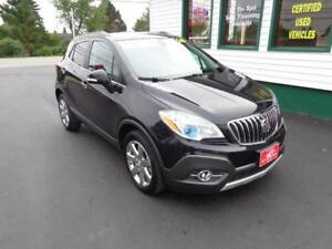 2016 Buick Encore Leather AWD for $192 bi-weekly all in!
