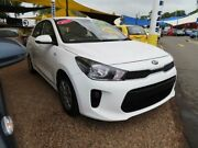 2017 Kia Rio YB MY17 S White 4 Speed Sports Automatic Hatchback Minchinbury Blacktown Area Preview