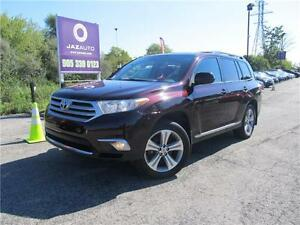 "2013 Toyota Highlander 4x4 ""7 PASSENGERS"" REAR CAMERA, SUNROOF"
