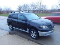2003 Mitsubishi Outlander SUV XLS AWD 167km