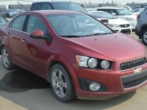 "2012 Chevrolet Sonic LT - Sunroof - 17"" Alloy Wheels"
