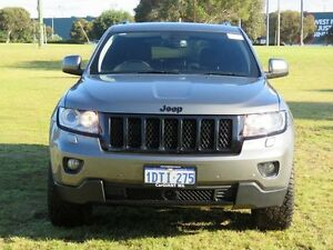 2011 Jeep Grand Cherokee WK Overland (4x4) Grey 5 Speed Automatic Wagon Hillman Rockingham Area Preview