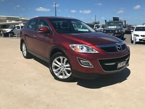 2011 Mazda CX-9 TB10A4 MY11 Grand Touring Red 6 Speed Sports Automatic Wagon Garbutt Townsville City Preview