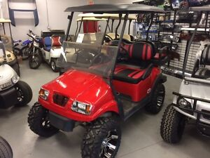 2012 Club Car Precedent Golf Cart Phantom RED 48V Electric