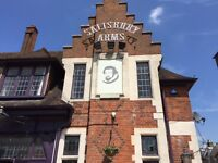 Kitchen Manager up to £32k, Salisbury Arms, Winchmore Hill