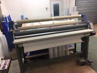 laminator, vinyl cutter, printer