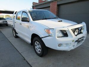 2007 Toyota Hilux KUN26R 07 Upgrade SR (4x4) White 5 Speed Manual Dual C/Chas Holden Hill Tea Tree Gully Area Preview