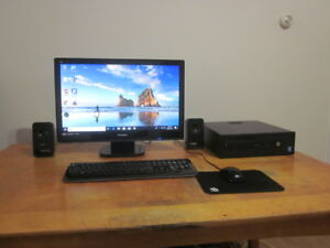 upgraded hp prodesk g1 with 2gb vid card/275gb ssd/16gb ram