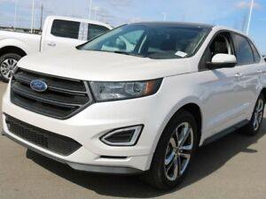 2018 Ford Edge SPORT, 400A, AWD, SYNC3, NAV, MOONROOF, SUEDE, CR