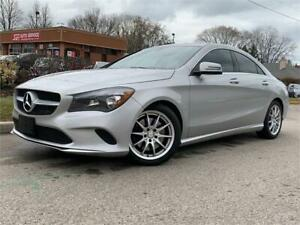 2017 Mercedes CLA 250-4MATIC-NAVI-BACKUP CAM-BLINDSPOT-AMBIENT