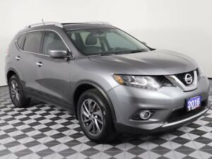 2016 Nissan Rogue SL w/Leather Seats-Back up camera-Accident Fre