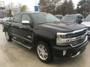 2016 Chevrolet Silverado 1500 LTZ HIGH COUNTRY crew cab 4x4 blac