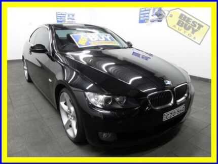 2007 BMW 325I E92 Black 6 Speed Auto Sports Mode Coupe Lansvale Liverpool Area Preview