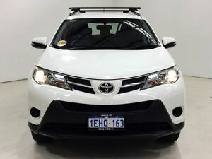 2013 Toyota RAV4 ZSA42R GX 2WD White 7 Speed Constant Variable Wagon Edgewater Joondalup Area Preview