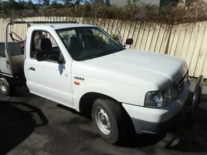 2002 Ford Courier PG GL White 5 Speed Manual Cab Chassis Edgeworth Lake Macquarie Area Preview