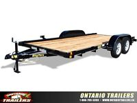 2015 Big Tex 60CH Tandem Axle with ramps $2995.00