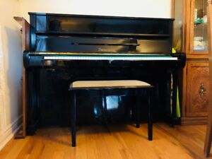 "43"" Upright Piano - Zimmermann for sale"