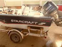 Starcraft 176 Superfisherman SC / 115 Hp Yamaha / Trailer
