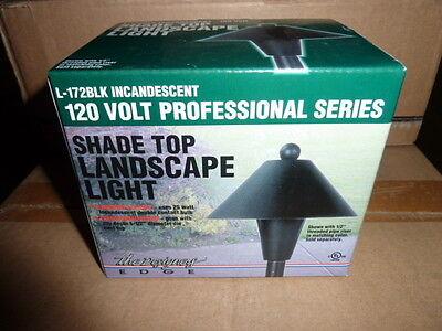 Top Landscape Light - Lot of 6 Shade Top Landscape and Light Incandescent NEW Lights black case NEW