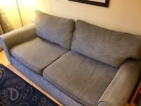 SOFA - 3 SEATER IN DOVE GREY - USED BUT GOOD CONDITION- FROM NEXT- COLLECT ONLY - fire safetyinplace