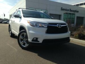 2015 Toyota Highlander Limited Navigation, Dual Moonroof, Backup