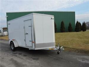 Remorque Fermée XPDL Aluminium 6X12 Enclosed Trailer